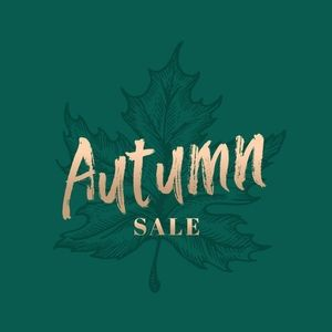 Welcome Autumn 20% Off Sale